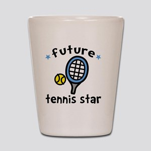 Tennis Star Shot Glass